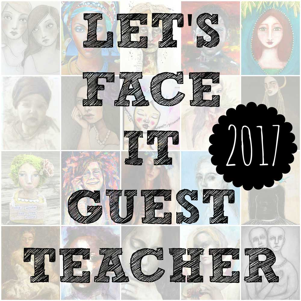I'm a guest teacher in Let's Face It 2017!