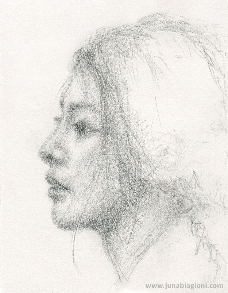 Art Journal Portrait