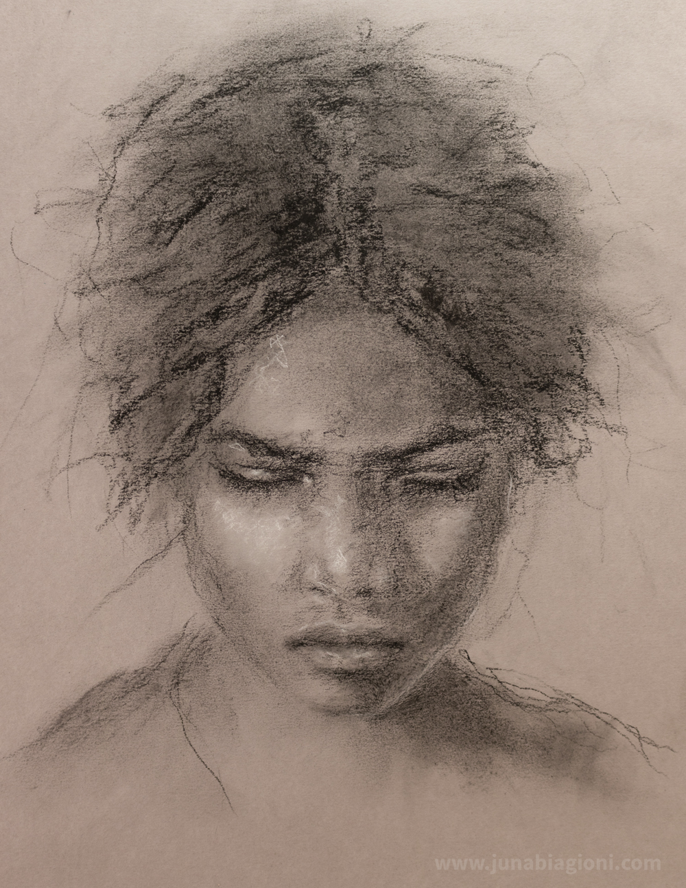 New Charcoal Portrait